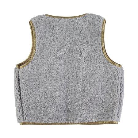 kids picnik vest - light grey