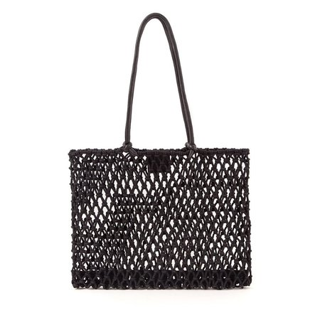 Clare V Sandy Knotted Tote - Black