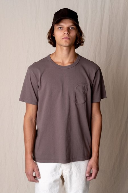 Lady White Co. CLARK POCKET TEE - CEMENT