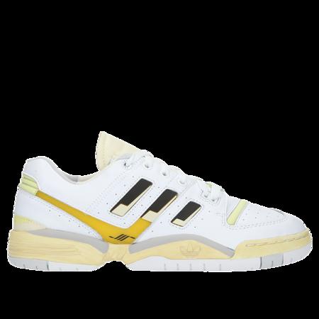 Adidas TORSION COMP HAL - White/Black/Blush Yellow