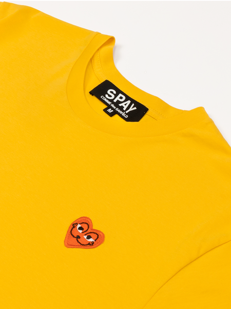 TMD x Barfbug SPAY comme des garfield tee - yellow