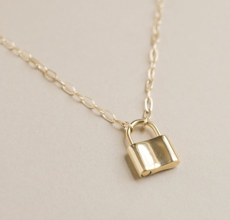 Merewif Holmes Necklace - Gold