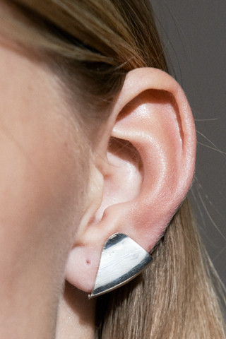 Katrine Kristensen - Armour Silver Earring Single