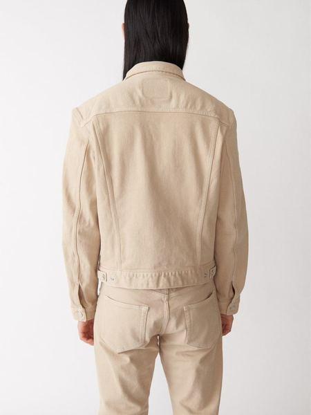 Jeanerica Classic Denim Jacket - Beige