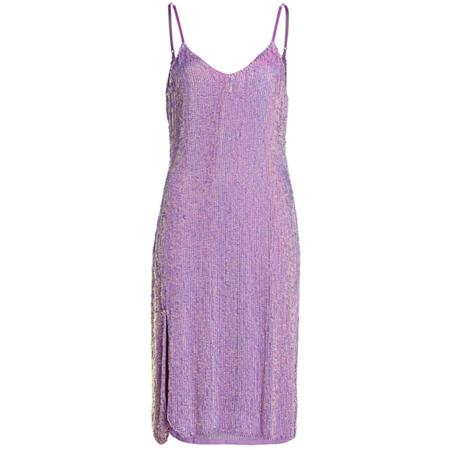 Retrofete Denisa Dress - Metallic Lavender