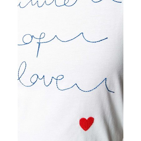 Chinti and Parker Summer of Love Short Sleeve T-Shirt - White
