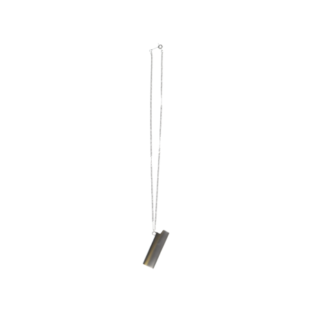 Ambush Lighter Case Necklace - Silver