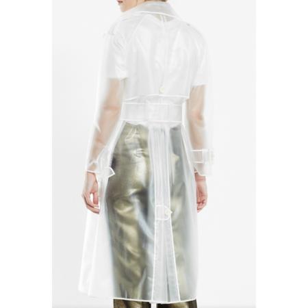 ALEXA CHUNG Classic Trench Coat - Transparent