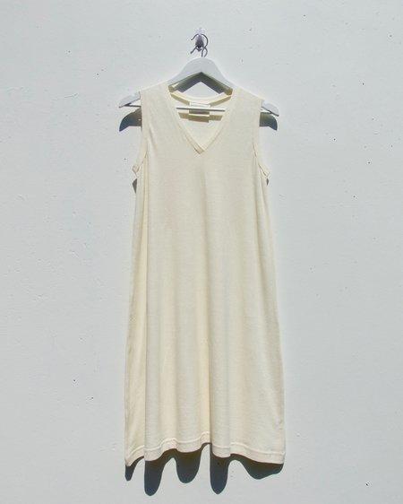 GOOD STUDIOS V-Tank Dress - Natural
