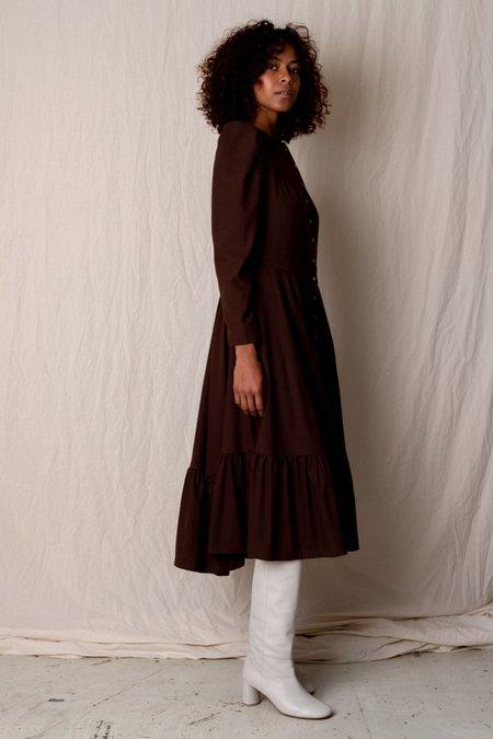 Town Clothes ROSA DRESS - CHESNUT