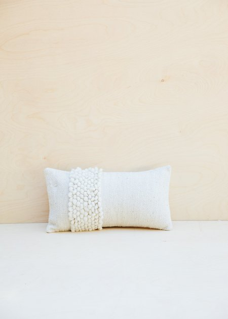Territory Nube Lumbar Pillow - Cream