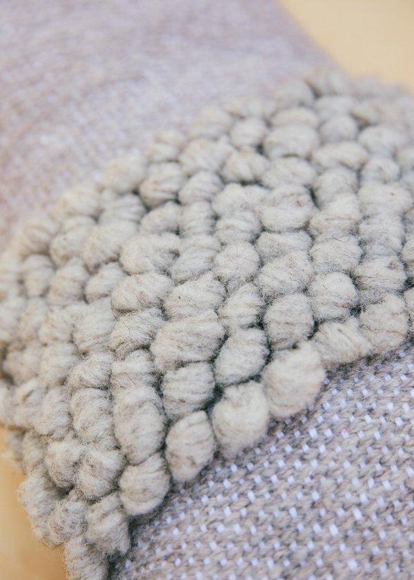 Territory Nube Lumbar Pillow - Grey