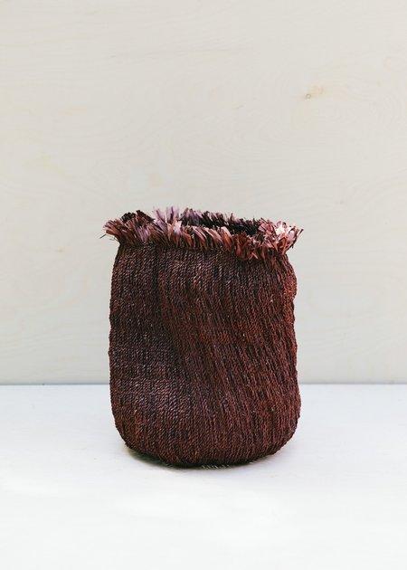 Territory Tassel Basket - Clove