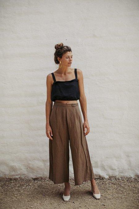 Ozma Studio Light Silk Linen Trouser