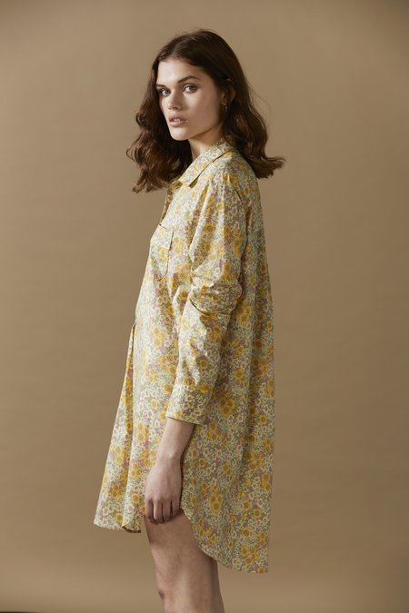 Laing Home Sommerset Floral Cotton Sleepshirt