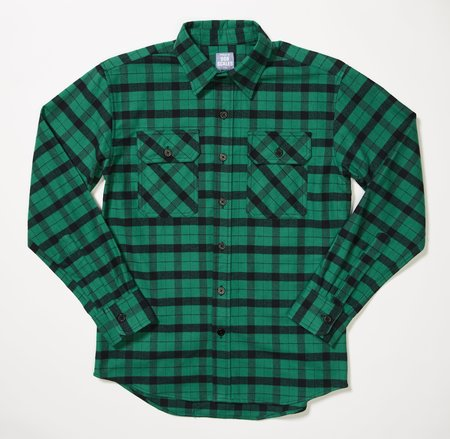 Product of Bob Scales FLANNEL WORK SHIRT - ACID GREEN