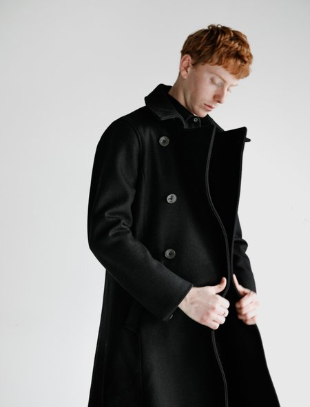 Frank Leder Wool Officer Coat - Archiv