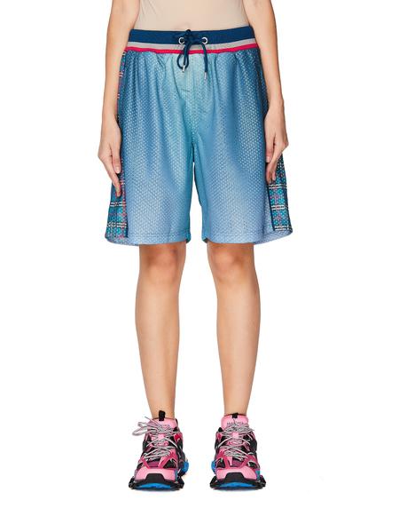 Pigalle Mesh Basketball Shorts - Blue