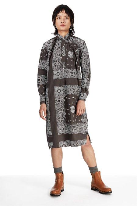 Blluemade French Dress - Bandana Print