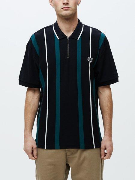 Obey Chunk Classic Short Sleeve Polo - Black