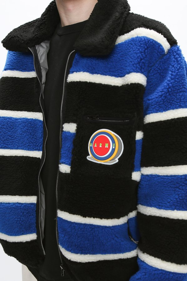 Marni Fleece Jersey Jacket