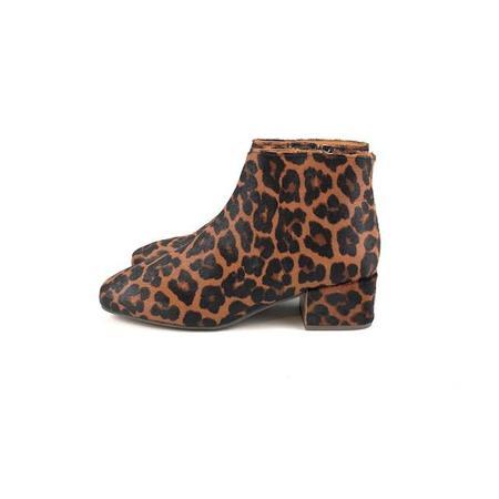 Gentle Souls Ella Bootie - Leopard