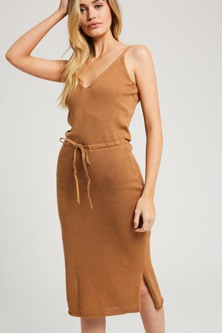Wishlist Knit Dress - Camel