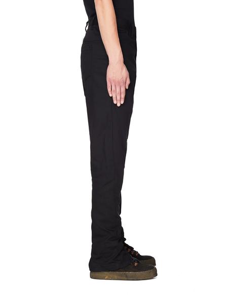 Julius Cotton Trousers - Black