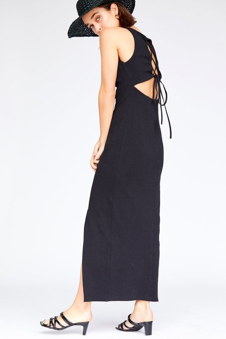 Callahan Grace Maxi dress - Black