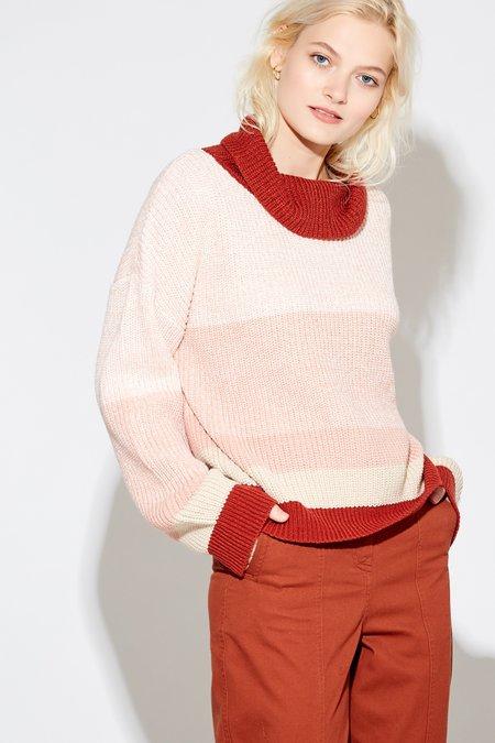 Callahan Nathalee Mock Sweater - Bossanova Multi