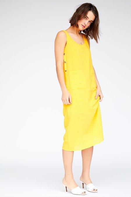 Callahan Pippa Dress - Canary Yellow