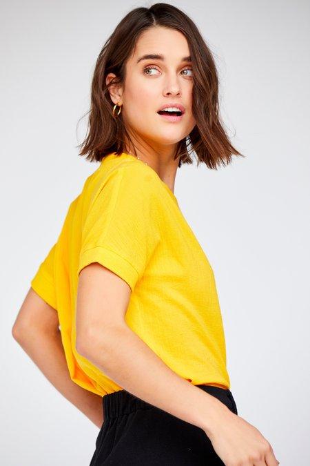 Callahan Chelsea Pocket Tee - Canary Yellow