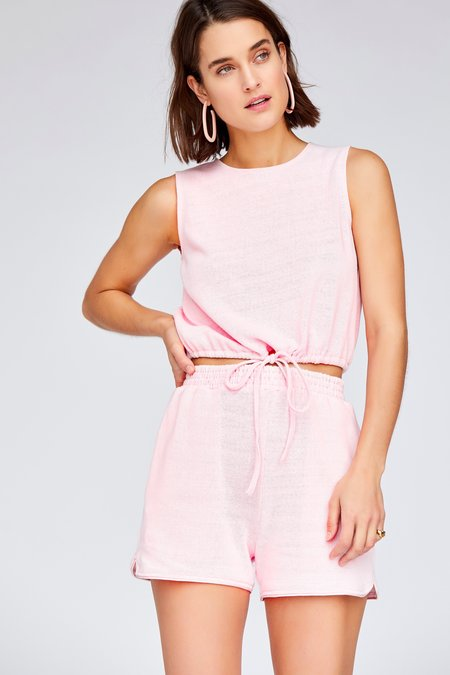Callahan Coco Tank - Baby Pink