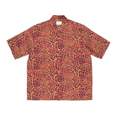 Aries Arise Hawaiian shirt - Leopard