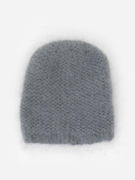 clyde mohair hat - slate
