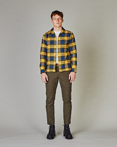 Corridor Winter Plaid Work Shirt - Yellow