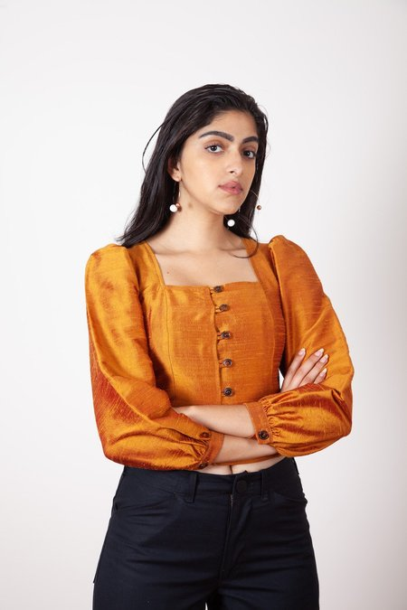 Gravel & Gold Lucida Top - Penny