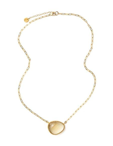 Cathy Pope Curio Citrine Necklace