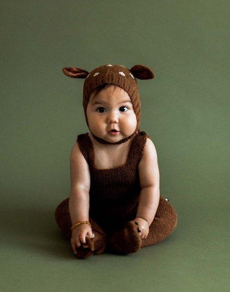 Kids Oeuf Footie Jumper - Bambi