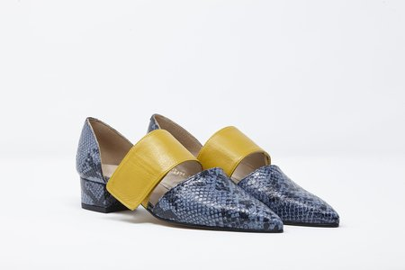 5yMedio Loren Serpentina heel - Azul