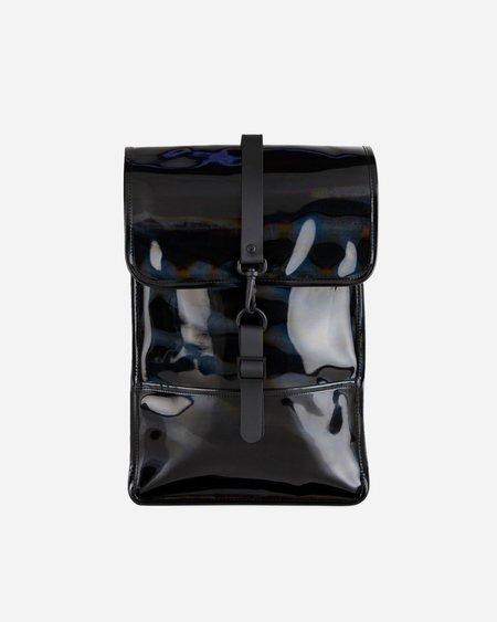 Rains Mini Holographic Backpack - Black