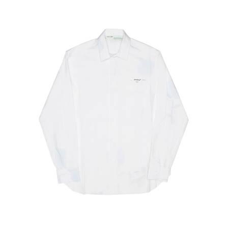 OFF-WHITE Classic Stripe shirt - White