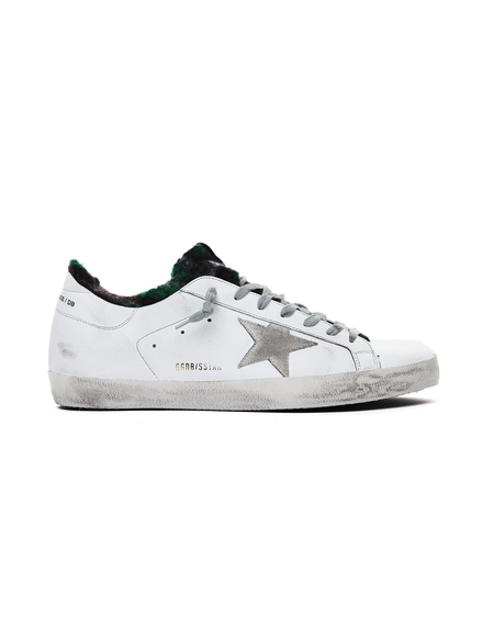 GOLDEN GOOSE DELUXE BRAND Superstar Sneakers - White/Green