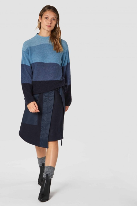 kings of indigo May Sweater - Stripe