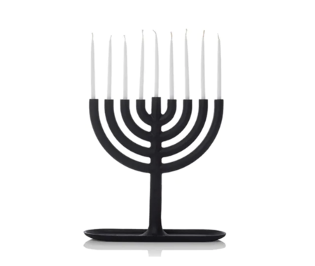 Areaware Menorah - BLACK