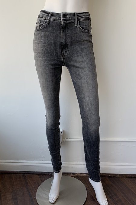 Mother Denim Swooner High Rise Skinny Jeans - Open Late