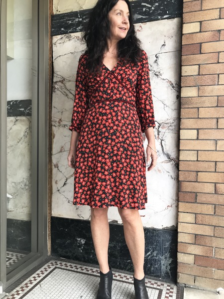 La Petite Francaise Relation Short Dress - Poppy