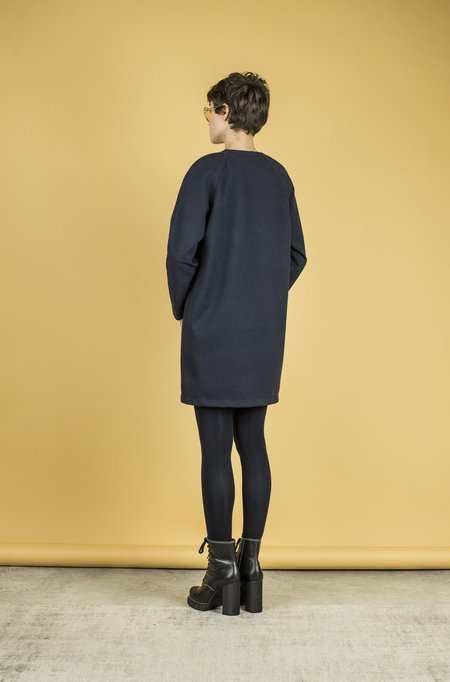 Jude Clothing Rivington Dress - Navy Blue