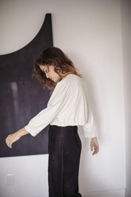 Ozma Joanna Silk Noil Top