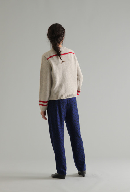 PLAINLESS MERINO WOOL SWEATER